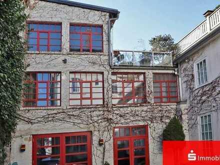 Eine perfekte Kombination - modernes Loft mit weitläufiger Dachterrasse im Herzen von Fulda