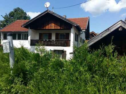 Sonniges Grundstück & Haus im idyllischen Habach in Oberbayern