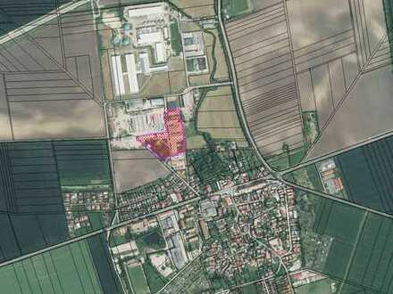 2,3 ha große Gewerbefläche am Ortsrand von Berlstedt