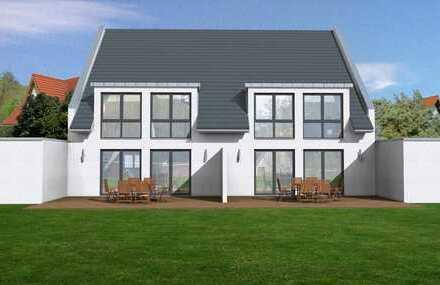 Frei planbare Doppelhaushälfte (150m²/schlüsselfertig) in moderner Architektur in Forstwald
