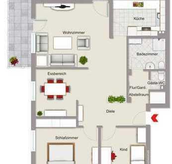 Baden-Baden/Sandweier-Wohnung Balkon und vieles mehr...