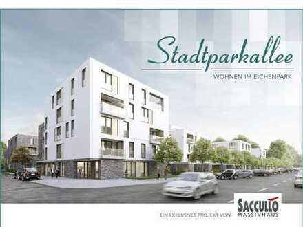 Drei-Zimmer-Penthousewohnung Stadt-/Eichenpark mit 168-qm-Dachterrasse Erstbezug in Langenhagen