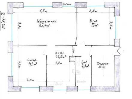 Erstbezug nach Sanierung: attraktive 3-Zimmer-Wohnung mit FBH in Welzheim