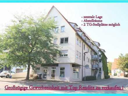 5 % Rendite***Große und sehr zentral gelegenden Ladeneinheit in Urbach***