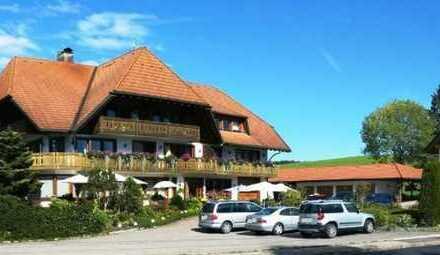Wunderschön gelegener Landgasthof mit Apartmenthaus im typischen Schwarzwaldstil