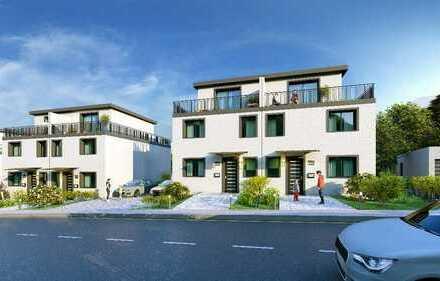 Neubau Doppelhaushälfte in Uninähe mit Ausblick über Wuppertal