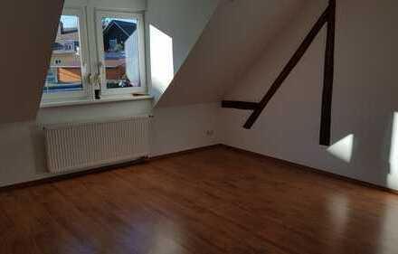 Vollständig renovierte DG-Wohnung mit vier Zimmern sowie Balkon und EBK in Karlsruhe