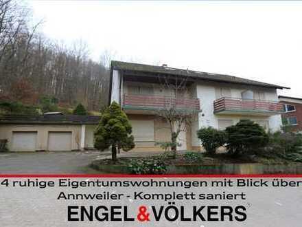 4 Ruhige Eigentumswohnungen mit Blick über Annweiler - Komplett saniert