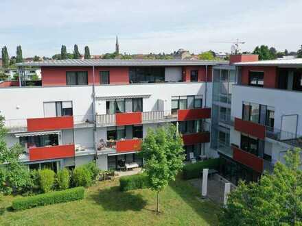 Sehr schöne 3 Zimmerwohnung mit Terasse in der Seniorenwohnanlage am Humberg in Müllheim