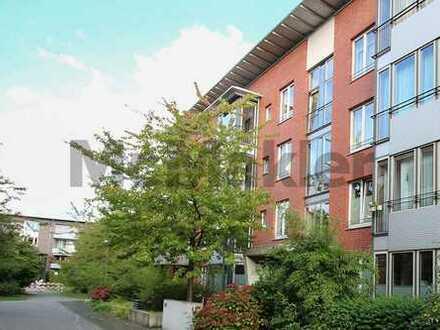 Unbefristet vermietet: Gepflegte 3-Zi.-ETW mit Garten und Terrasse in bester Lage in Münster