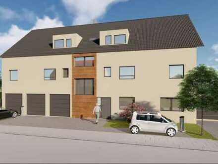 Erstbezug mit 28 qm Terrasse: schöne 2,5-Zimmer-EG-Wohnung in Kleinkarlbach