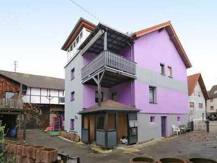 Saniertes, großzügiges Mehrfamilienhaus mit ausbaufähiger großer Hofscheune - ideal für Handwerker