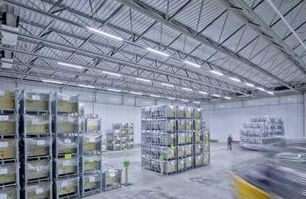 """""""BAUMÜLLER & CO."""" - kurzfristig verfügbar - Nähe A5: 10.000 m² -Logistikfläche -"""
