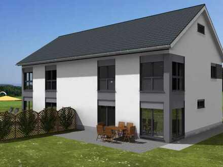 Neubau Doppelhaushälfte in Modautal/Neutsch mit Blick ins Grüne