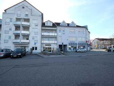 Gepflegte 1-Zimmer-Wohnung mit Balkon und PKW-Stellplatz in Graben-Neudorf.