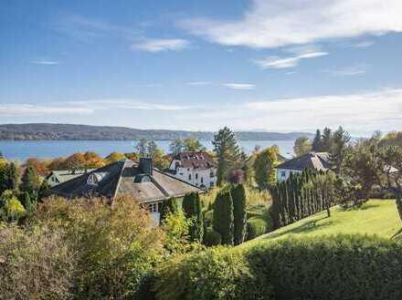 Notartermin vereinbart - Sonnige Gartenwohnung mit herrlichem See- und Alpenblick