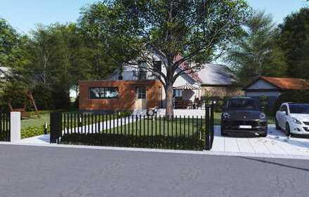 * erweiterbares Einfamilienhaus in ruhiger und grüner Lage *