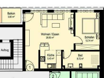 NEUBAU Schöne 2-Zimmer-Wohnung in Dörzbach (W1)