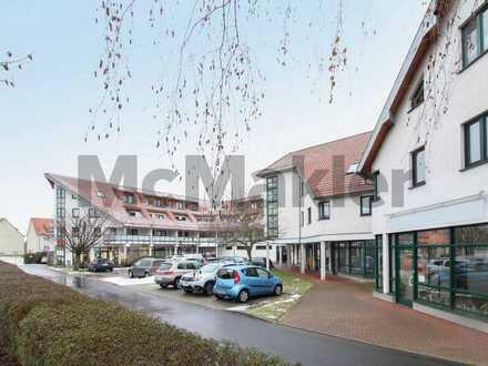 Lichtdurchflutete 3-Zi.-Dachgeschosswohnung mit Loggia u. Stellplatz - zentral in Lebus