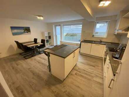 Sehr schöne möblierte 1,5 Zimmer Souterrain Neubauwohnung mit Einbauküche