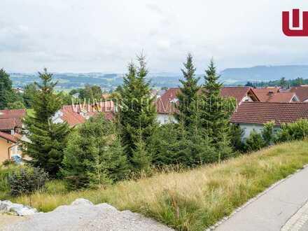 WINDISCH IMMOBILIEN - Sonniges Grundstück für ein Mehrgenerationenhaus im Oberallgäu in Waltenhofen