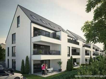 """Maisonettenwohnung mit Aufzug """"SELIGENSTADT"""" W12 - Haus C - 3-Zi. DG rechts - Balkon - 119,95 m²"""