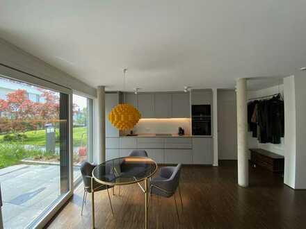 Exklusive 3-Zimmer-Wohnung inklusive Garten in nobler Wohngegend, provisionsfrei