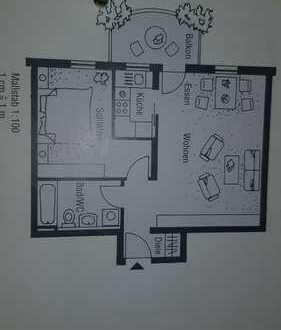 Attraktive 2-Zimmer-Wohnung mit Balkon in Sinsheim