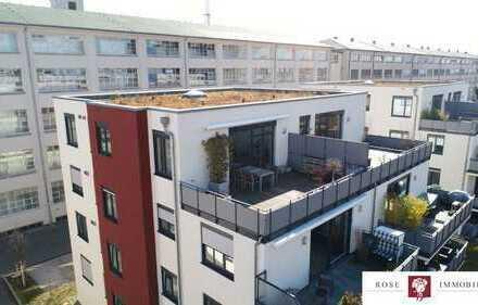 Exklusive 2,5 - Zimmer Penthousewohnung mit Garage und wertvoller Einbauküche