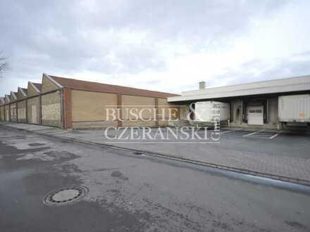 Kerkstiege    6.623 m² beheizbare Lager-/Logistikhalle    Rampenanlieferung    Inkl. Sozialräume