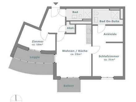 Dachterrasse, Ankleidebereich, Bad-On Suite- Hier werden Träume wahr.