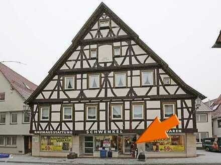 Attraktive Verkaufsfläche mit großen Nebenräumen (Werkstatt) in top Lage