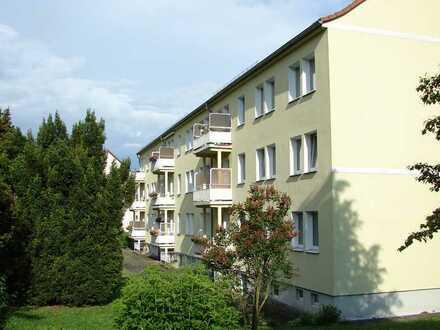 renovierte 3-Raum-Wohnung mit Balkon in ruhiger Wohnlage
