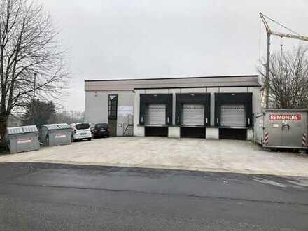 Ca. 1.300 m² attraktive Logistikfläche in Wöllstadt mit Lastenaufzug zu vermieten.