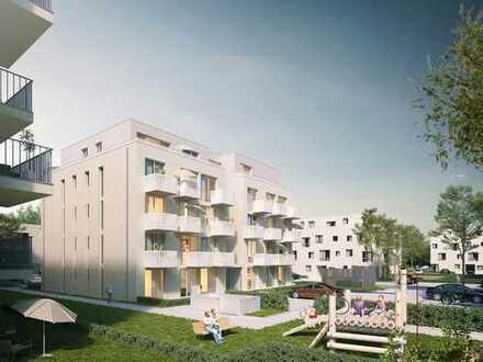 Einziehen und das Leben genießen! 2-Zimmer-Neubauwohnung in schöner Umgebung mit eigenem Garten