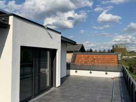 Erstbezug: attraktive 4-Zimmer-Wohnung mit Einbauküche und Dachterasse in Emsdetten