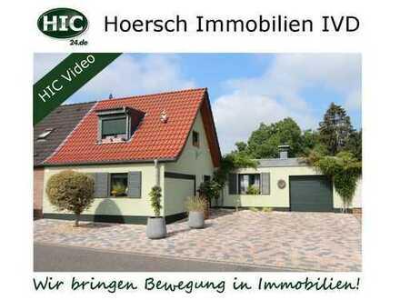Wohnen auf einer Ebene: DHH mit ca. 150 m² Wohnfläche auf ca. 730 m² Grundstück