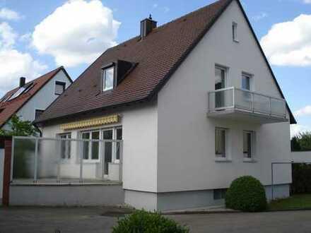 Einfamilienhaus mit kleinem Garten nähe Bahnhof