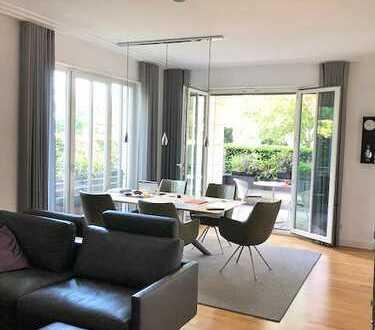 Wohlfühlatmosphäre! 100m²-2-Zimmer Erdgeschosswohnung mit EbK. und Süd-Garten in dem Klostergärten