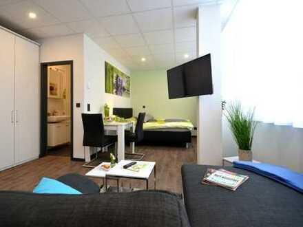 FREIE APARTMENTS - möblierte Wohnung, attraktiv eingerichtet, zentrale Lage - Ankommen&Wohlfühlen