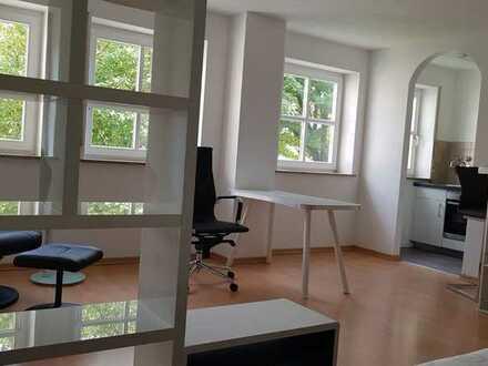 Vollmöblierte, gepflegte 1-Zimmer-Wohnung in Augsburg/ Universitätsviertel