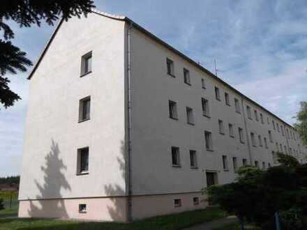 Gemütliche 3-Raum-Wohnung in ländlicher Lage
