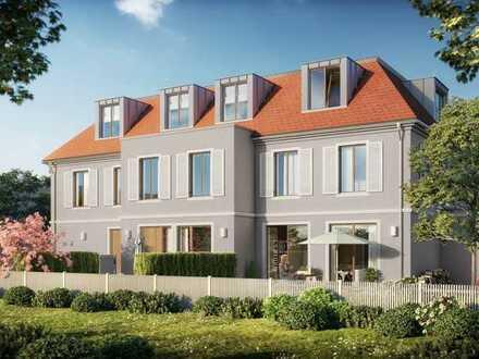 Baubeginn: Direkt an Stadtpark und Würm, traumhaftes Mittelhaus in der Villenkolonie