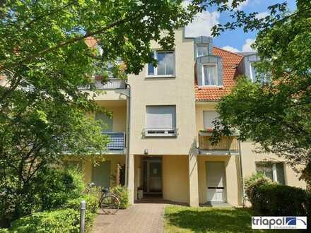 Gemütliche 1-Zi-Wohnung mit Balkon in Dresden-Weißig.