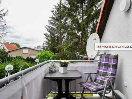IMMOBERLIN: Komfortabel & adrett! Helle Wohnung mit ruhigem Südbalkon
