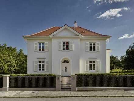 PF-Rod: Freistehende denkmalgeschütze Villa mit herrlicher Gartenanlage