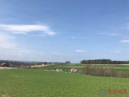 Sonnenverwöhntes, ca. 8.800 m² großes Grundstück (2.081 m² bebaubar) - 6 km von Passau auf der