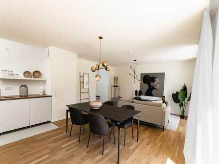 Ihre neue Wohnung mit fast 100 m² Wohnfläche nahe der Donau