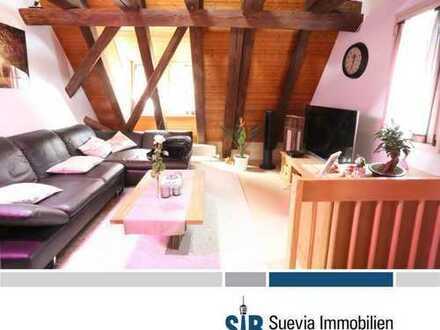 Maisonettewohnung in historischem Gebäude in zentraler und ruhiger Wohnlage von Nufringen