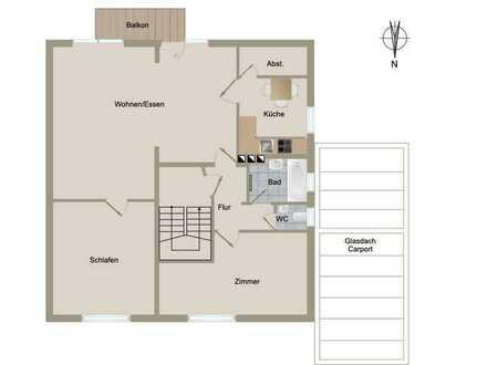 *** 3-Zi-Wohnung mit Südbalkon in ruhiger Lage***
